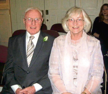 George McMillan and his wife Mary.