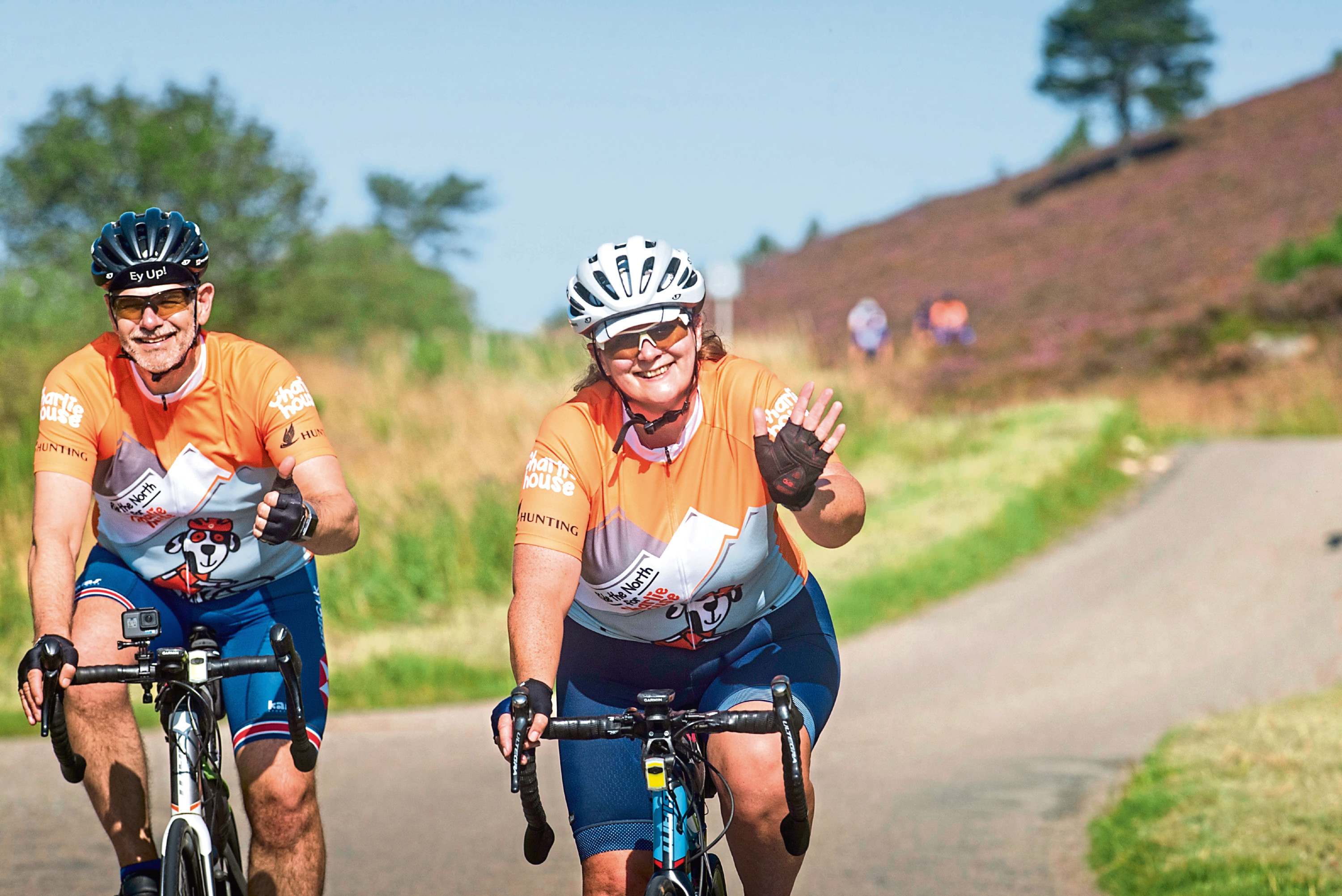 Charlie House is appealing for people to take part in Ride the North.