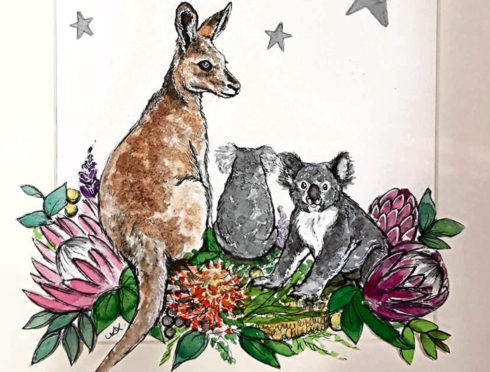 Kangaroo by Amy Singer is one of the items set to go under the hammer.