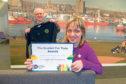 Martin Rhodes, CEO Scottish Fairtrade Forum and Modern Languages teacher Monica Malet