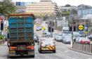 Traffic on Wellington Road