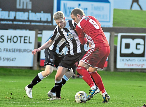 Fraserburgh's Ross Willox. Picture by Chris Sumner