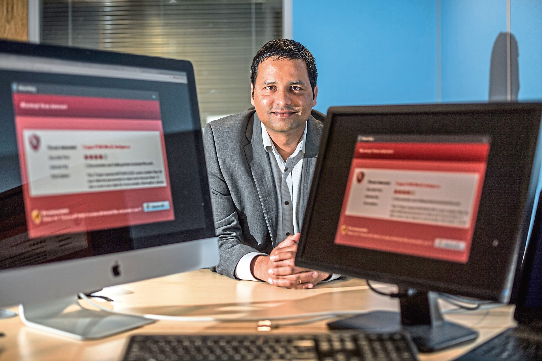 Jai Aenugu managing director at The TechForce