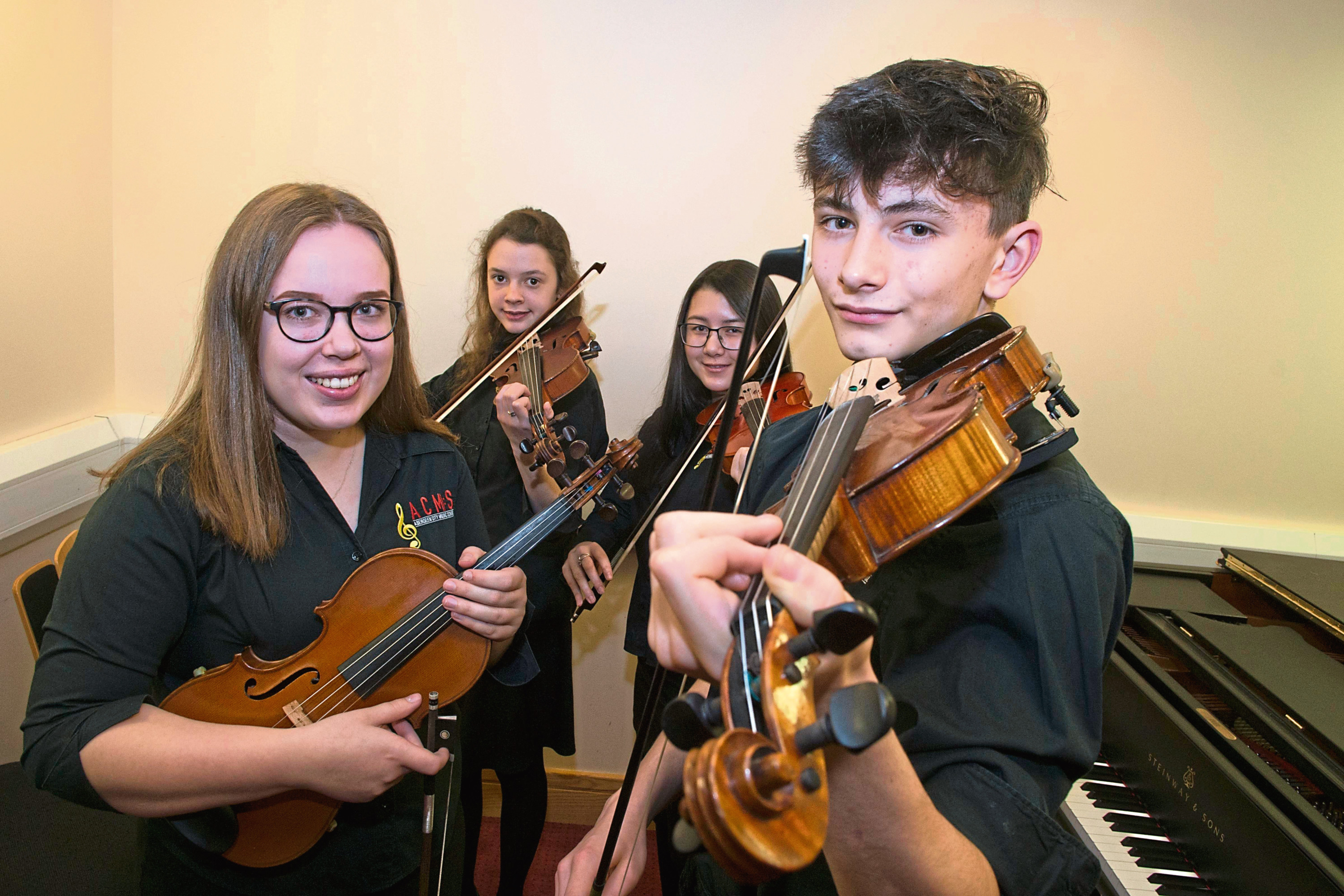 Among the music school's talented ensemble are Ariana Black, Charlotte Slater, Sienna Lee and William Hodi who will entertain audiences with their string pieces