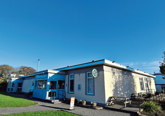 The site of the former White Horse Inn in Balmedie, which closed last year