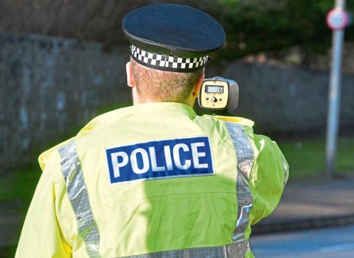 Three drivers were warned for speeding