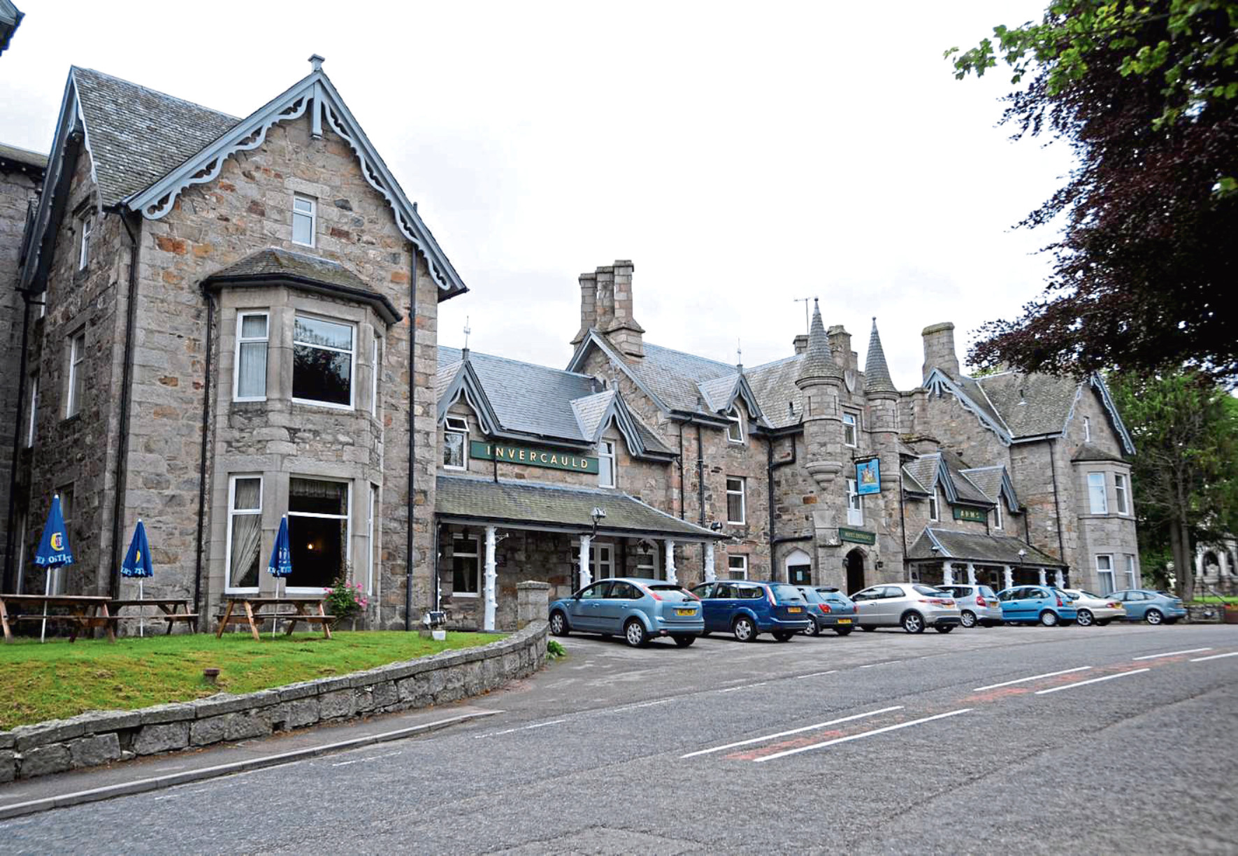 The new hub will help tourists visiting Braemar