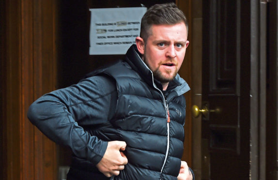 Scott Banks was found guilty of attempting to pervert the course of justice by aiding and assisting the escaped Jed Duncan, his childhood friend