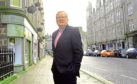 Interim Conservative leader, Jackson Carlaw visited Aberdeen to discuss business rates