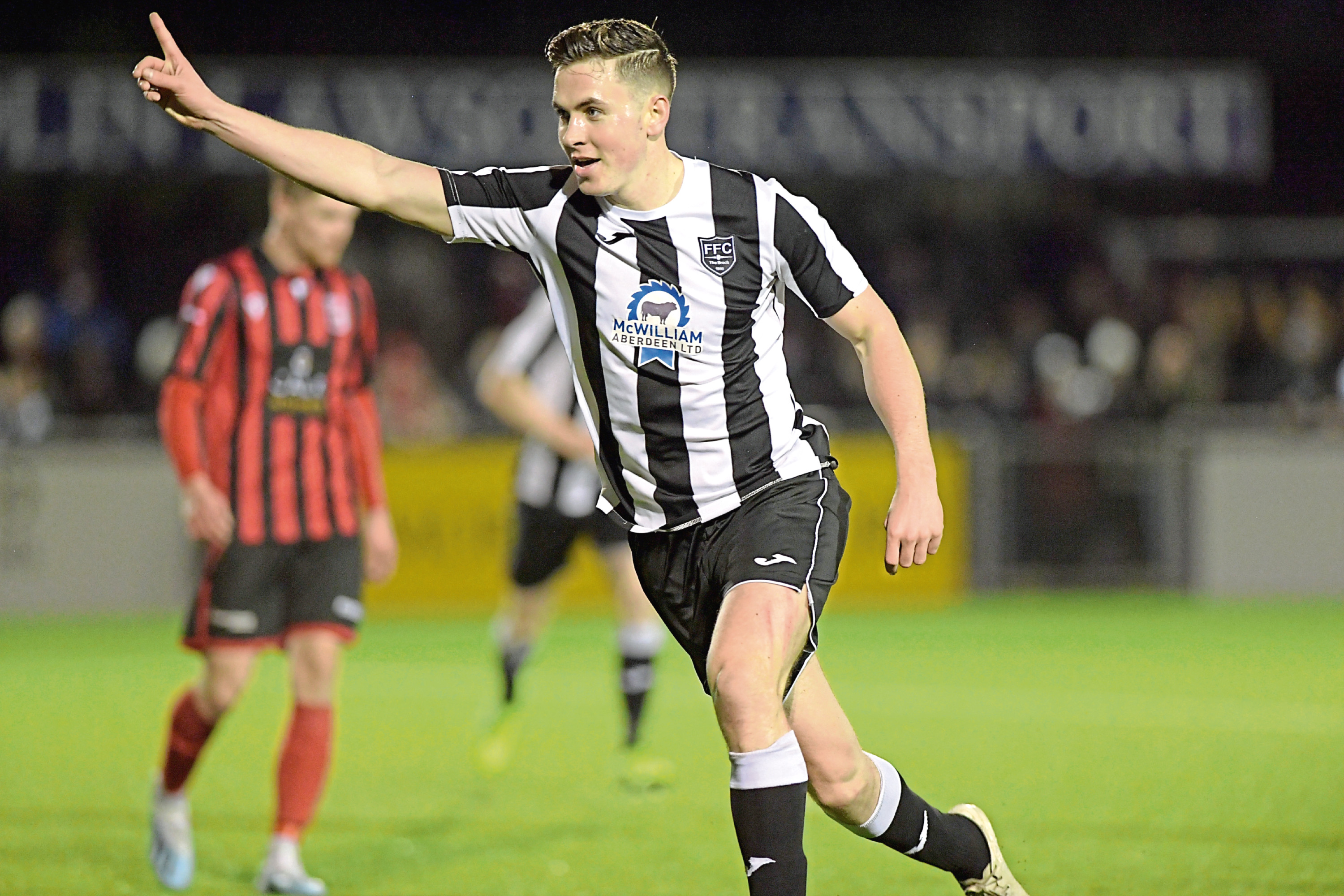 Paull Campbell has been one of Fraserburgh's main goalscorers in recent times. Picture by Kath Flannery