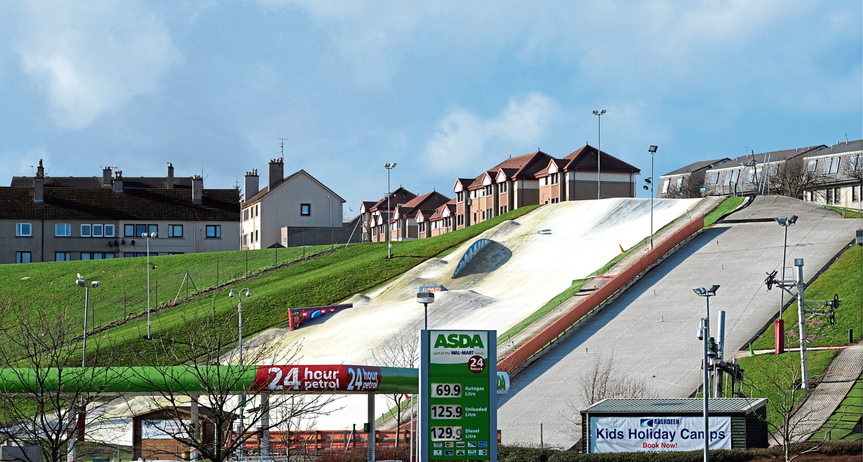 The Garthdee Community Council was behind the Aberdeen Snowsports Centre being built