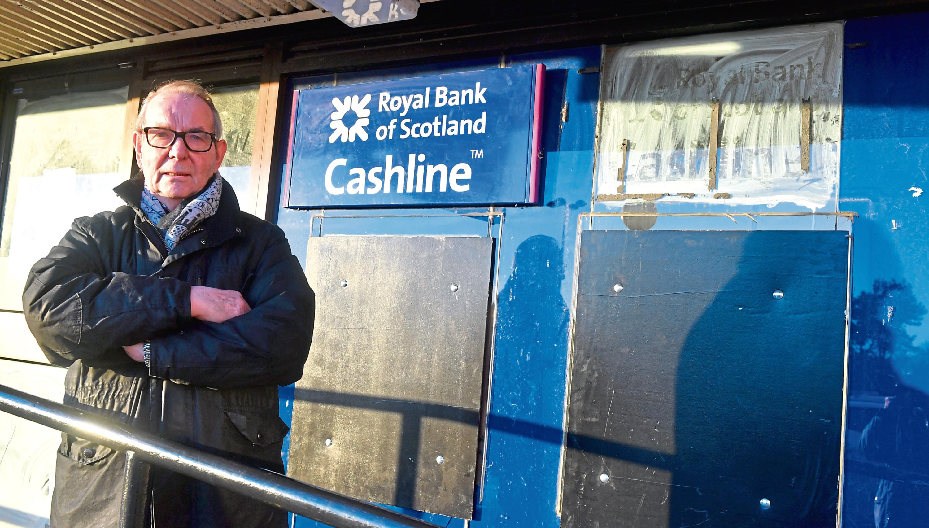 Councillor Ron McKail has said the ATM closure will lead to a loss of business and frustration
