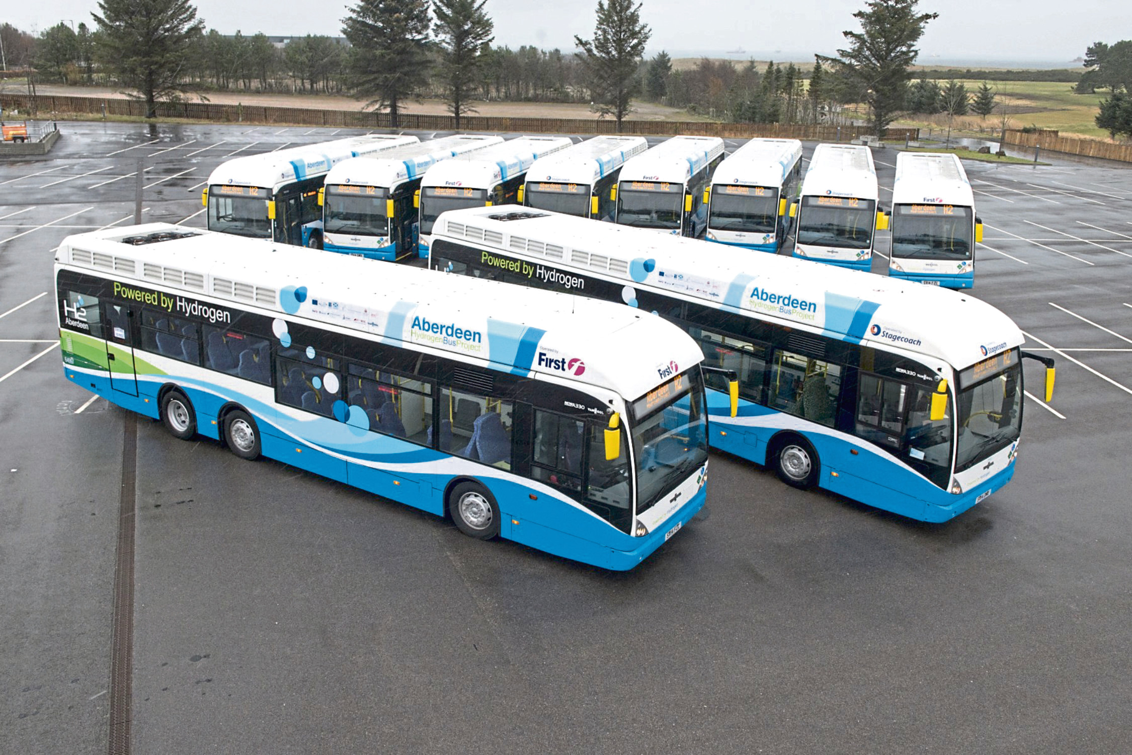 The city's hydrogen bus project is to be expanded