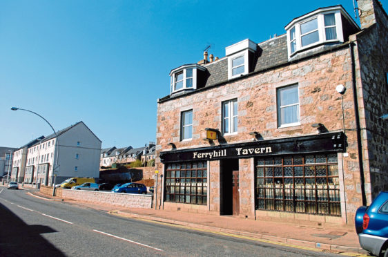 The former Ferryhill Tavern has been disused since closing down in 2015
