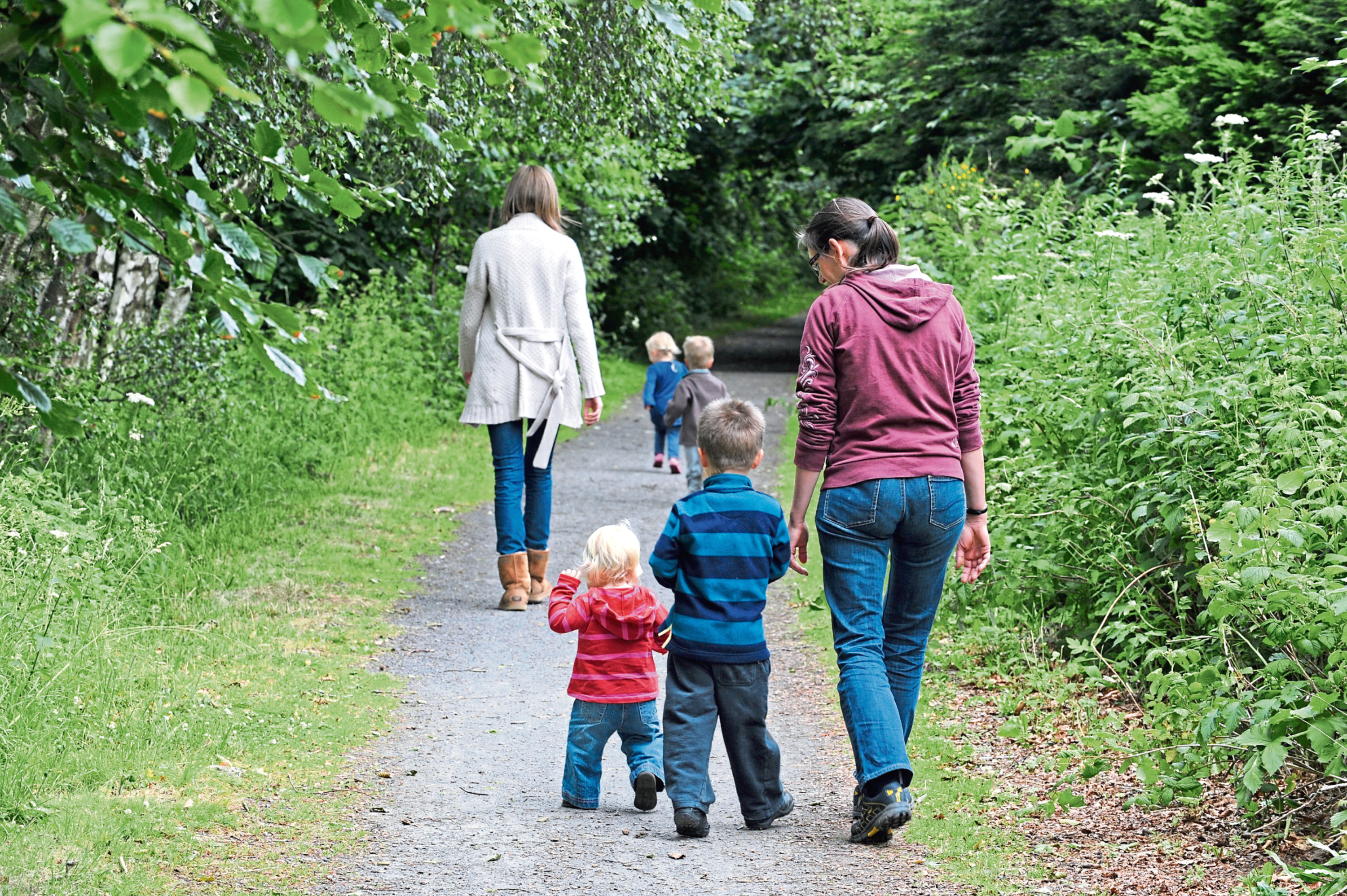 improvements are being undertaken along the Formartine and Buchan Way