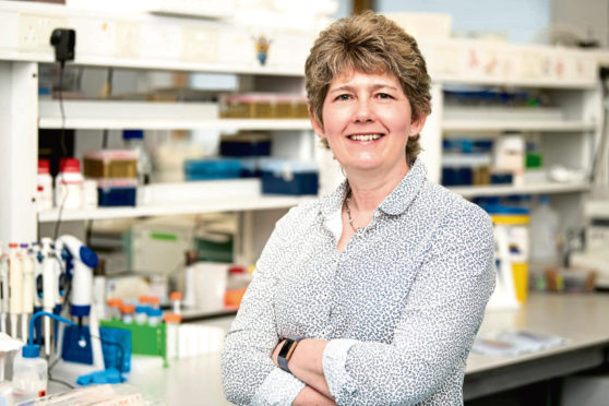 Professor Valerie Speirs  says the number of men living in Scotland who have received a breast cancer diagnosis has risen continuously for the last 25 years