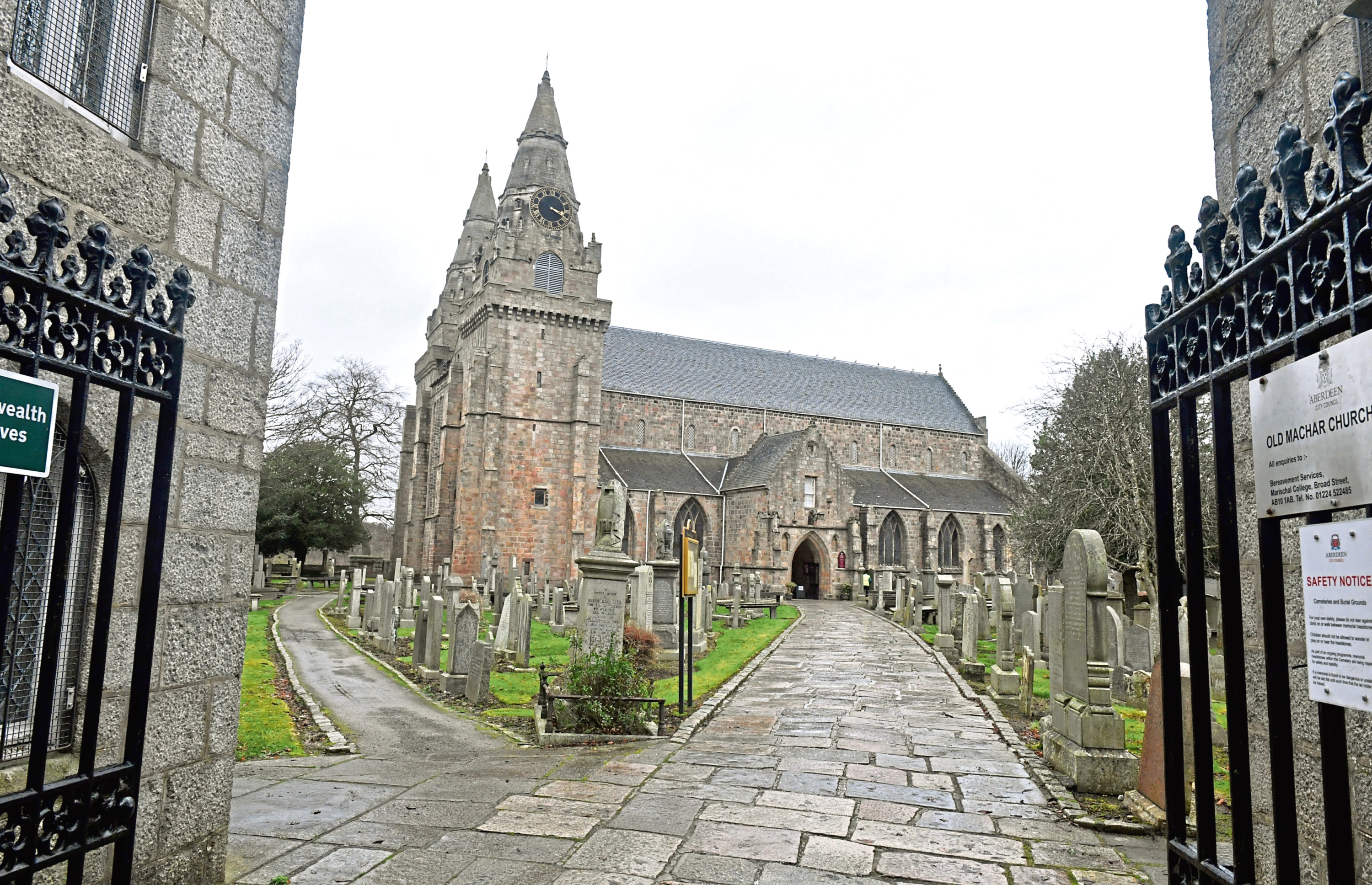 The green light has been given for the first phase of repair works to begin at St Machar's Cathedral