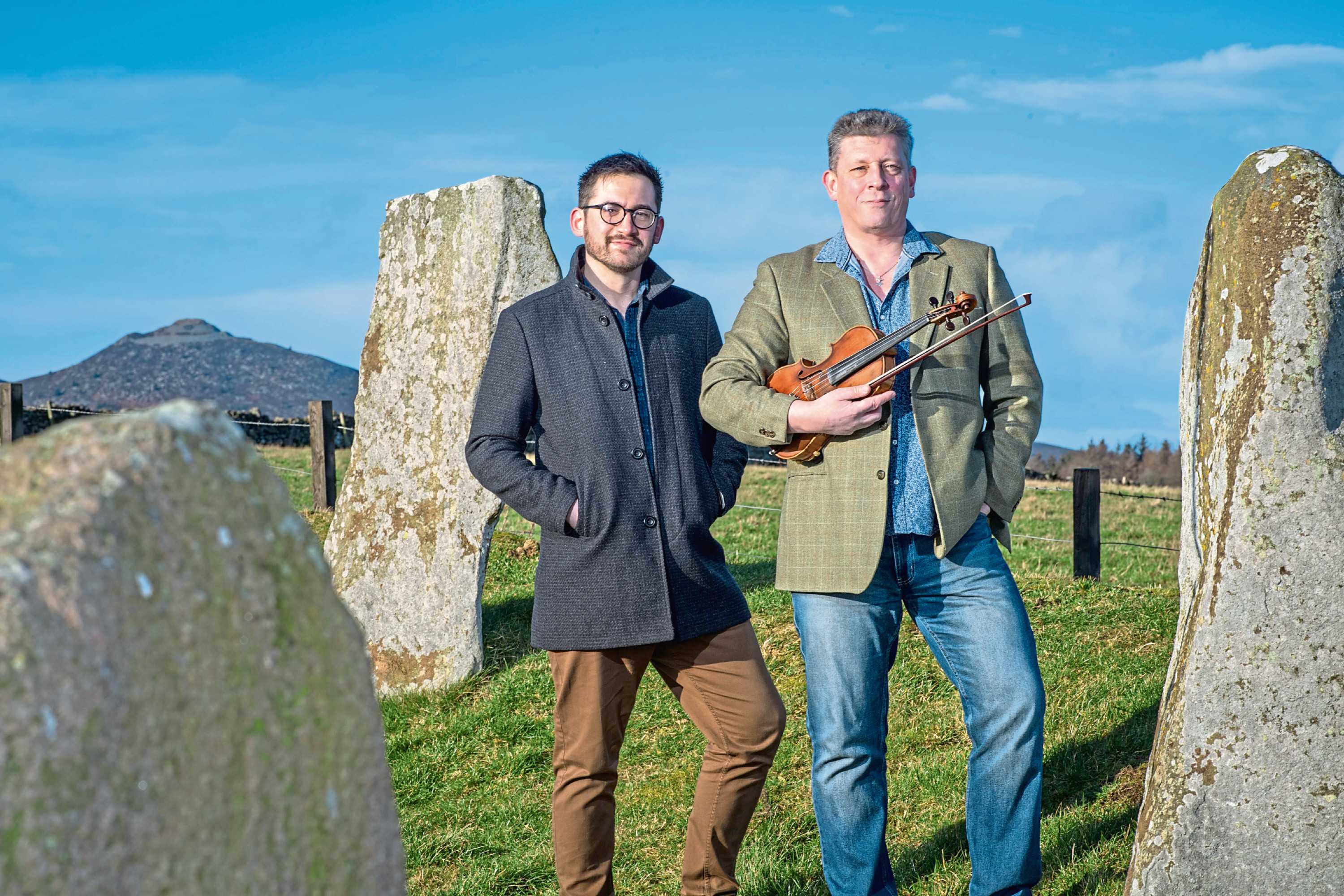 Benjamin McMillan and Paul Anderson have won VisitAberdeenshire's Sound of the North-East music competition