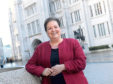Jackie Baillie was in Aberdeen to meet the nine suspended councillors