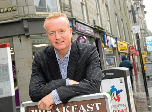 Chief executive of Aberdeen Inspired Adrian Watson