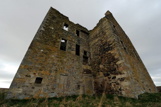 Knockhall Castle is on the market for offers over £130,000