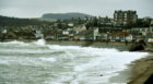 A flood alert is in place for Stonehaven