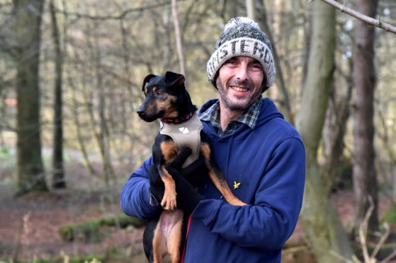 Toby McKillop is starting a men's walk at McDonald Park, Ellon, to help them talk about their mental health after he was at his lowest
