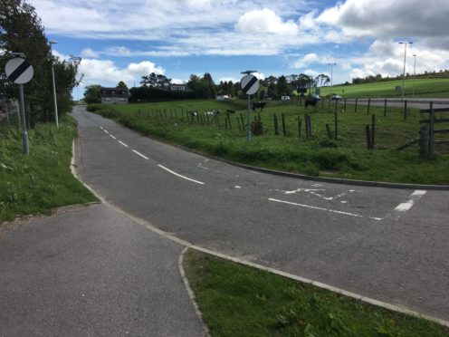 Where the new cycle route would be located