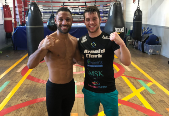 Kell Brook and Dean Sutherland.