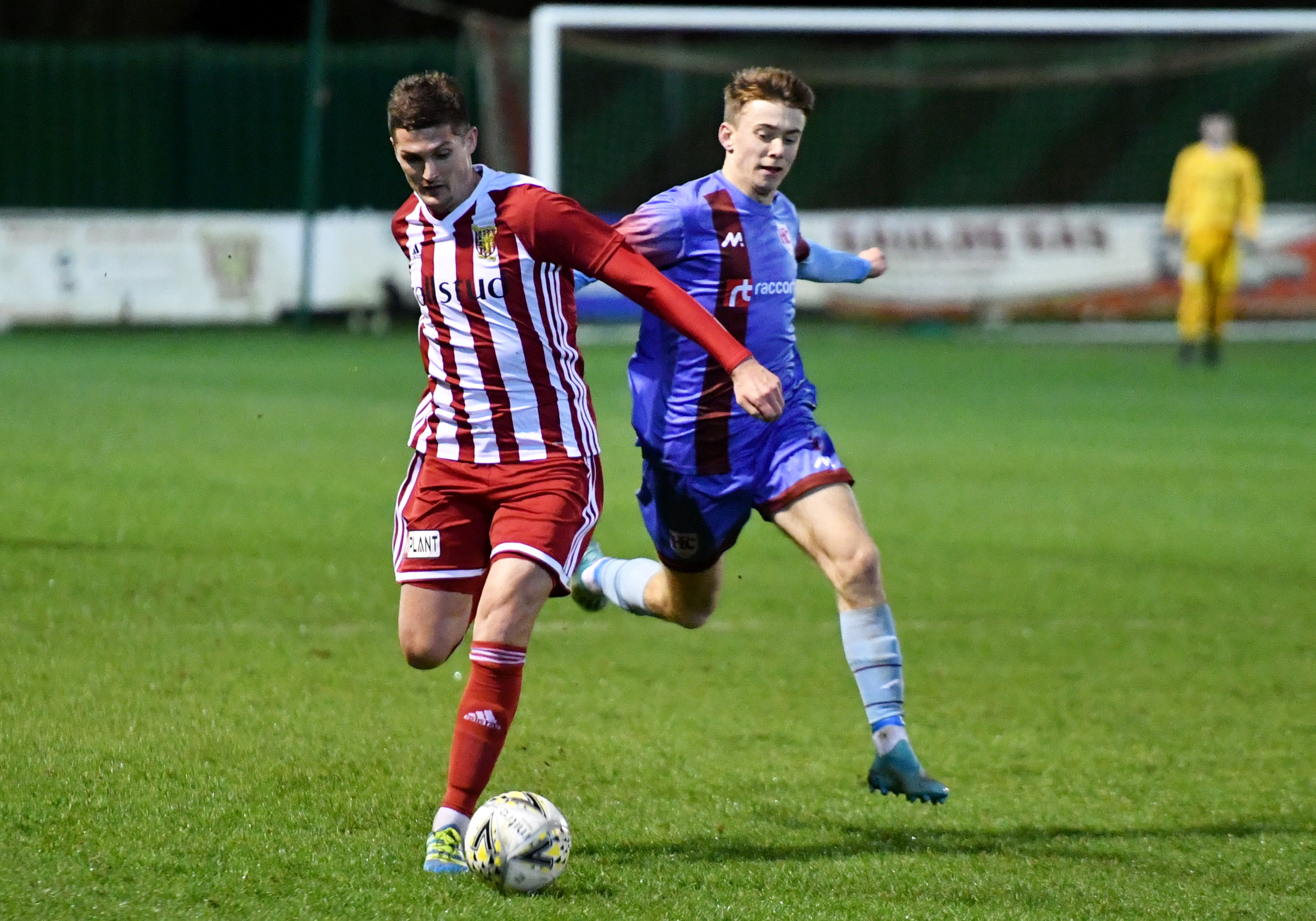 Formartine's Daniel Park, left. Picture by Chris Sumner