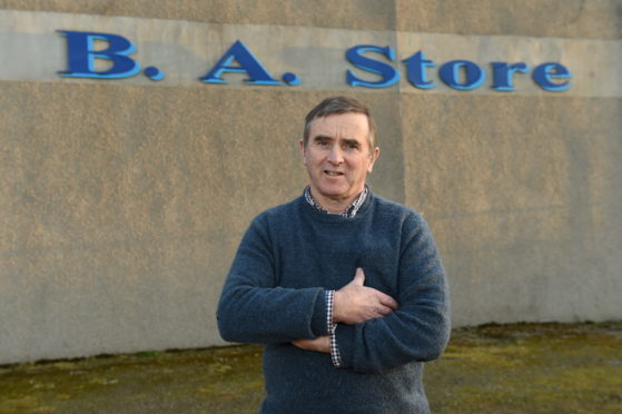 Part-owner Allan Brownie hopes that BA Country Stores will reopen
