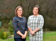 Organisers of the Aberdeen Health and Wellbeing festival, Sarah Stewart and Emma Windle
