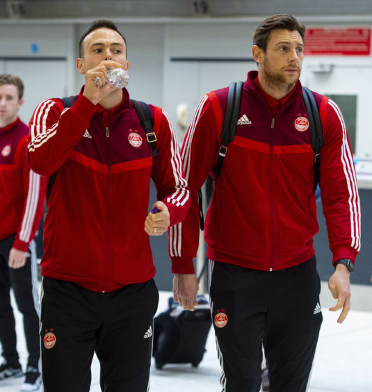 Andrew Considine and Ash Taylor.