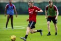 Dylan McGeouch in training for Aberdeen.