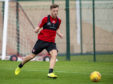 Bruce Anderson has been scoring freely in pre-season and is expected to lead the line tomorrow.