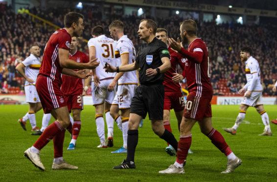 Aberdeen lost to Motherwell in midweek.