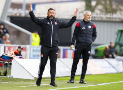 'Gutted' Derek McInnes looks for two more signings to ease Aberdeen's struggles after fans make discontent known