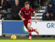 Matty Kennedy in action for Aberdeen.