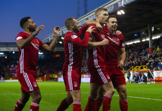 Aberdeen's last goal was a penalty against Dumbarton in the Scottish Cup fourth round.