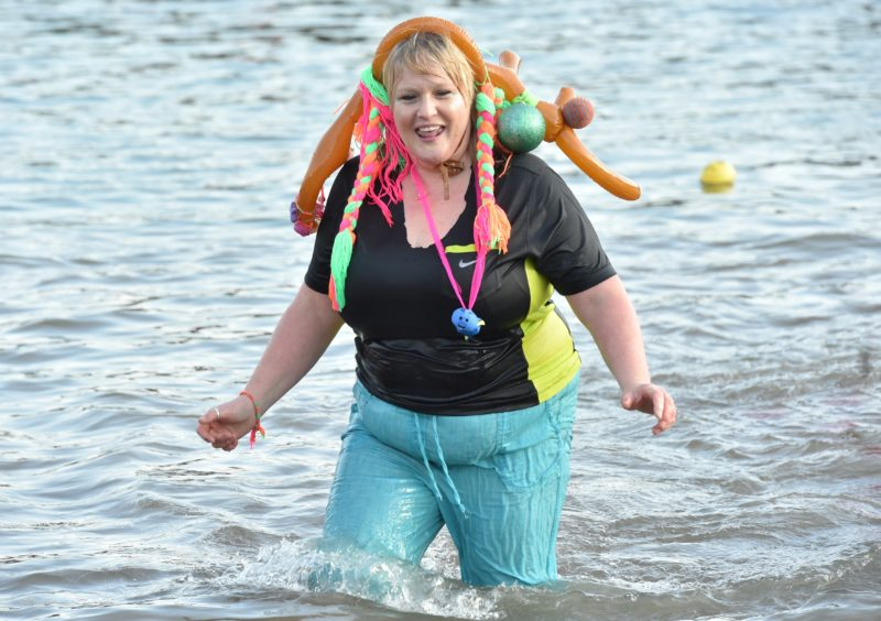 Stonehaven Nippy Dip. Pictures by Colin Rennie