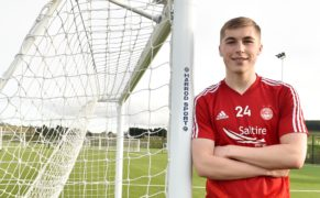 WATCH: Dean Campbell scores wonder goal in Dons' Reserve Cup victory over Kilmarnock