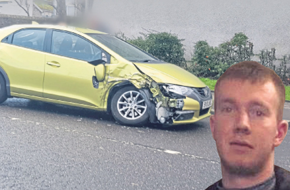 Jed Duncan was driving Banks' Jeep when he was spotted by police in the Sheddocksley area. He went on to crash