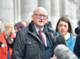Alan Donnelly outside Aberdeen Sheriff Court