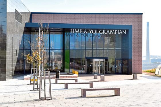 HMP Grampian in Peterhead