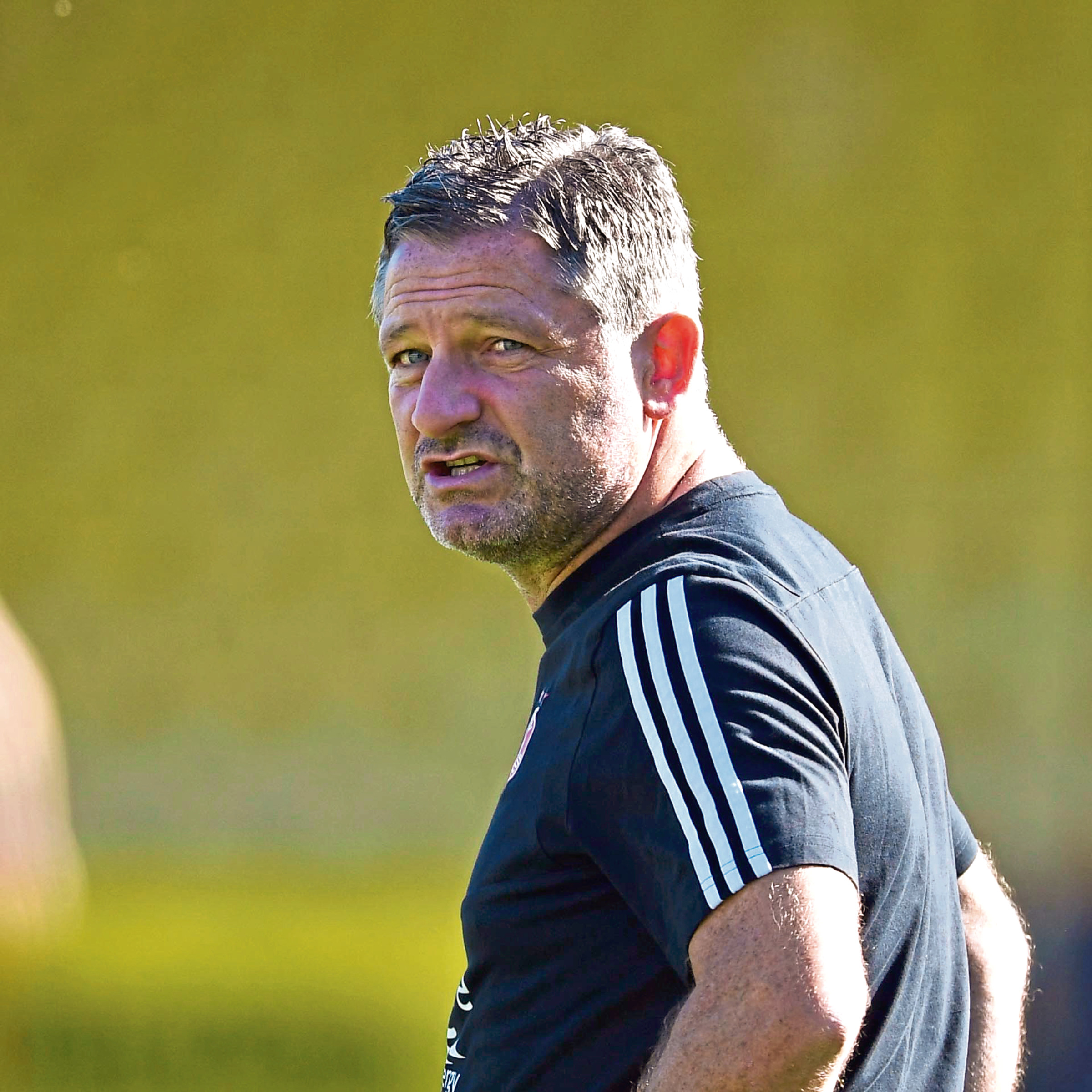 Aberdeen assistant manager Tony Docherty