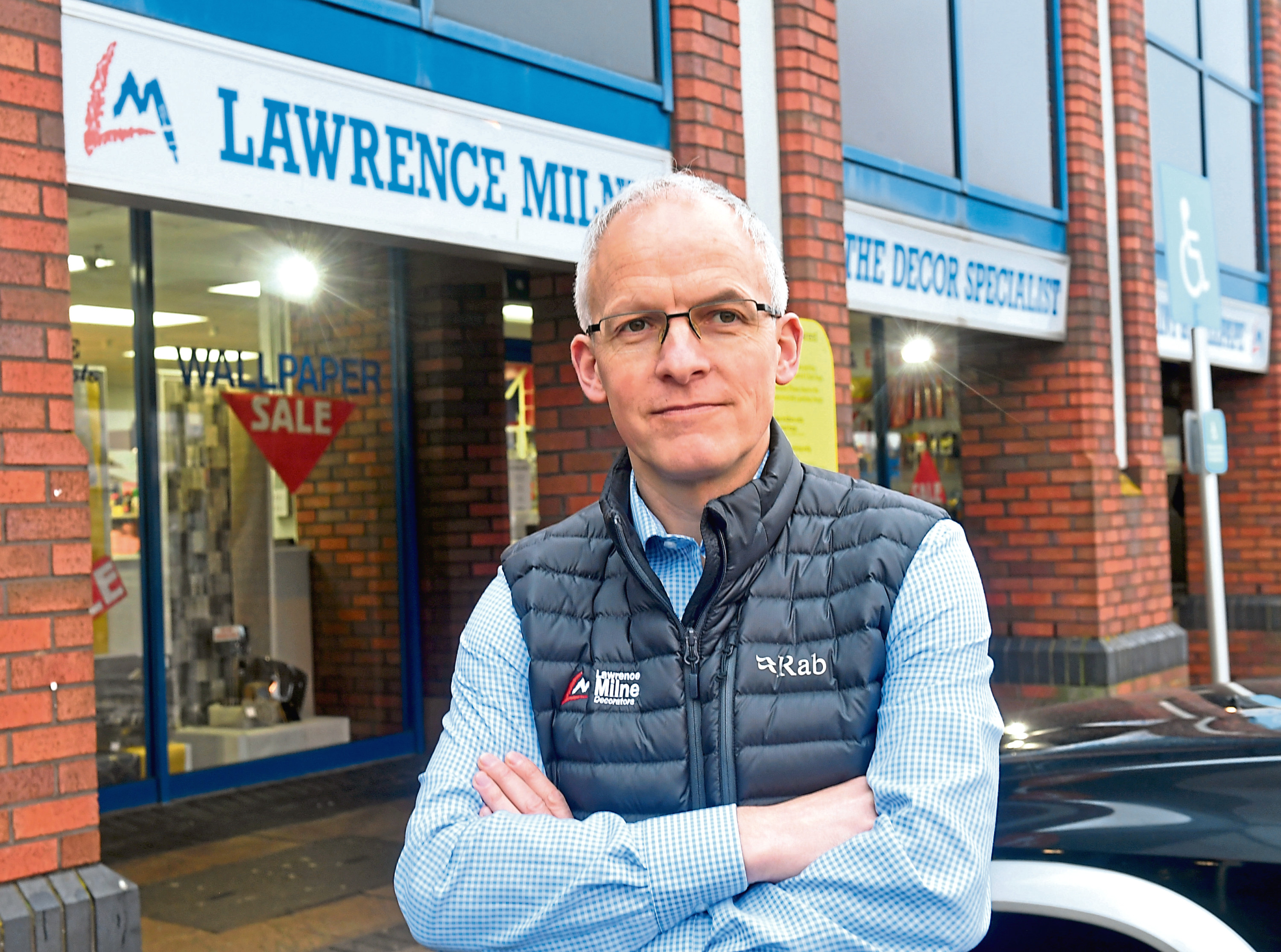 The Aberdeen Lawrence and Milne Decorators store is closing down after operating for around 40 years due to rising costs and rough trading conditions