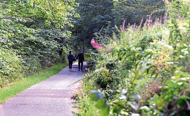 The Deeside Way will benefit from £250,000 worth of improvements