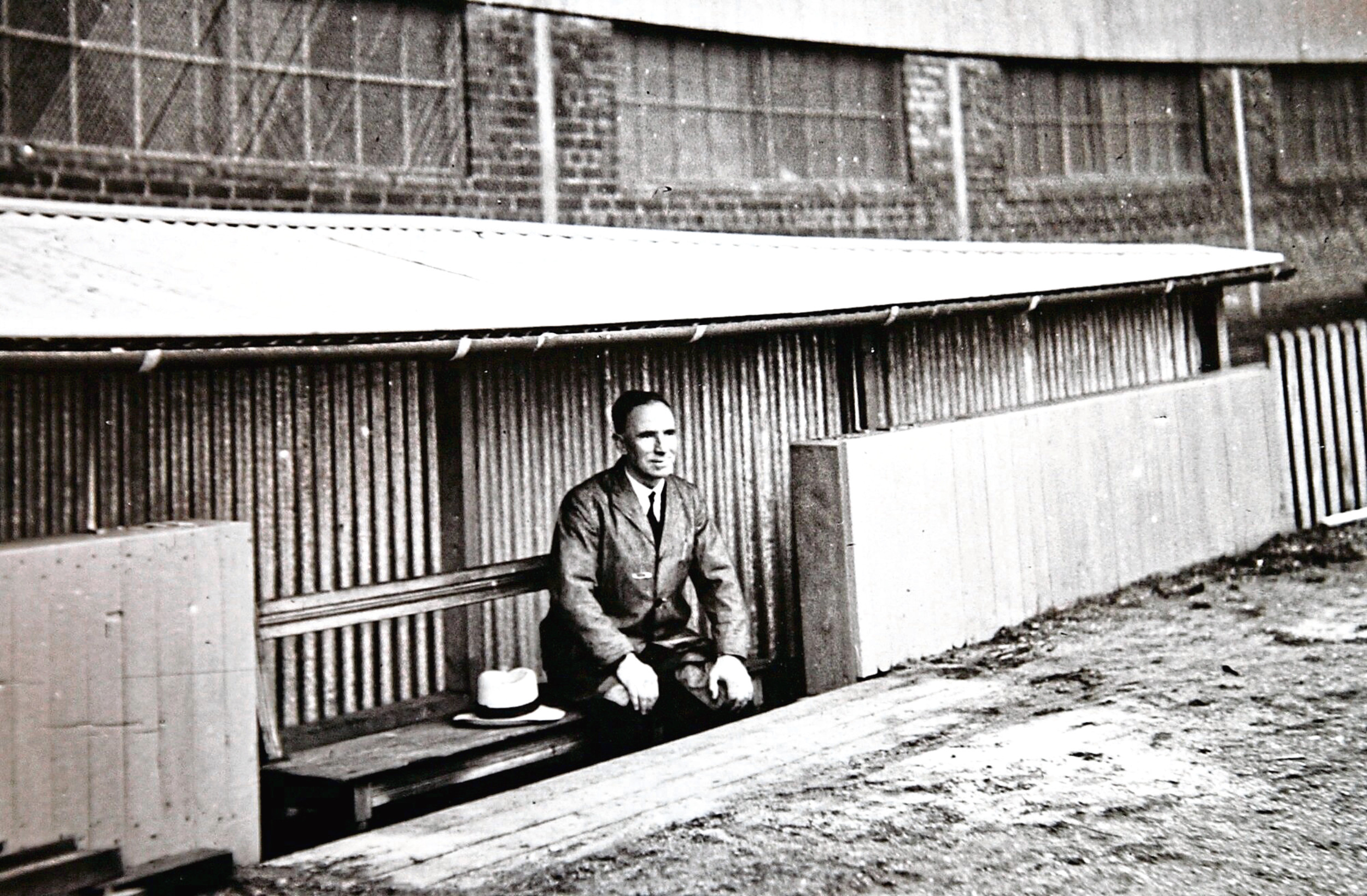 Donald Colman invented the dugout