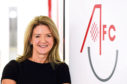 Aberdeen FC Community Trust chief executive Liz Bowie.