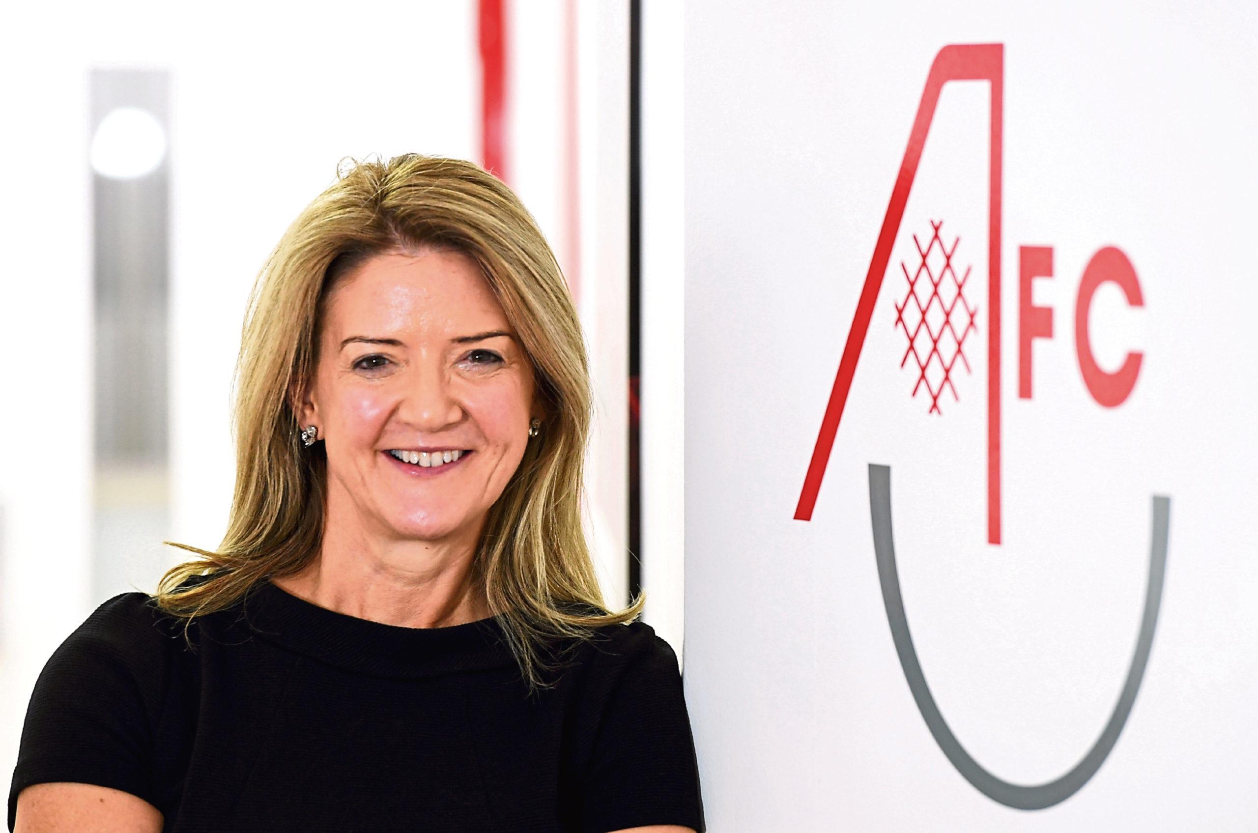 Aberdeen FC Community Trust chief executive Liz Bowie